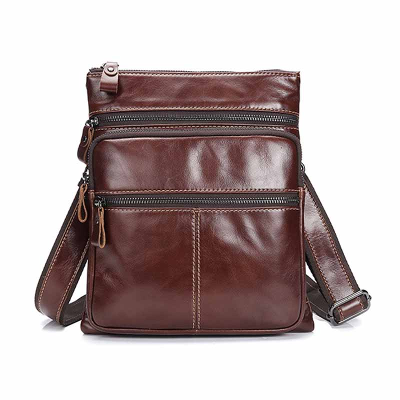 Neweekend Small Casual Bussiness Bag Men's Handbag Crossbody Shoulder Bags Messenger Bag Zipper Pack For Male Female BF1588