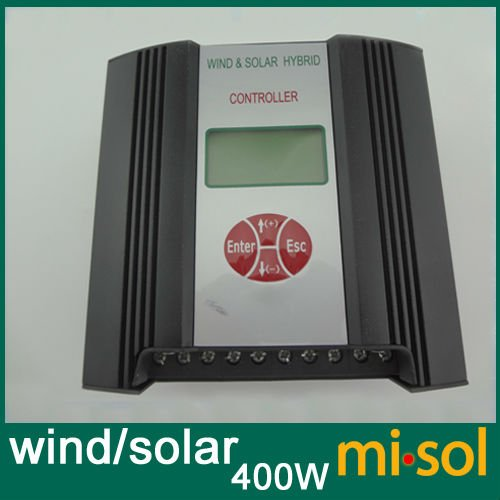 Hybrid Wind Solar Charge Controller 400W Regulator, 12V, wind charge controller lcl crg712 crg 712 crg 712 5 pack black 1500 pages laser toner cartridge compatible for canon lbp3018 3010 3100 3150