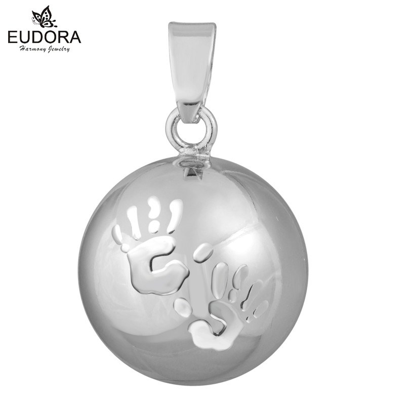 Harmony Bola Wholesale Pregnancy Chime Ball Bijoux Baby Schmuck Soft Pendant Necklace Ball Bola Gift For Mom & Baby
