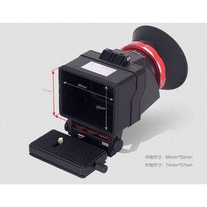 """Image 5 - GGS SWIVI S6 ช่องมองภาพ 3 """"/3.2"""" จอ LCD สำหรับ Canon 5D2 5D3 6D 7D 70D 750D 760D สำหรับ Nikon D7000 D7200 D750 D610 D810 D800"""