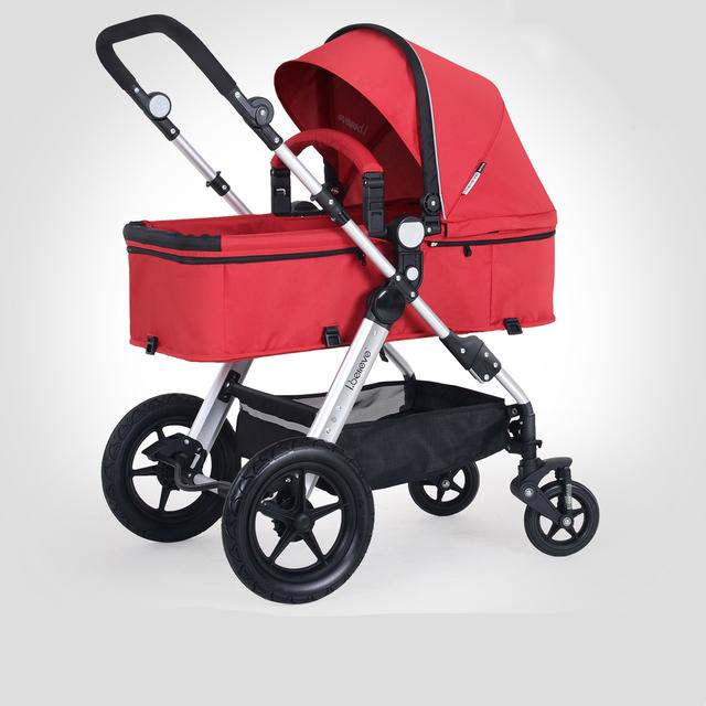 Venda quente de alta qualidade carrinho de bebê à prova de choque de alta paisagem carrinho de bebê portátil dobrável