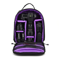 Camera Backpack DSLR Bag Case For Fujifilm X T20 X T10 X T2 Panasonic GF8 GH5 GH3 GH4 Olympus OMD EM1 EM5 EM10 Photography Bag