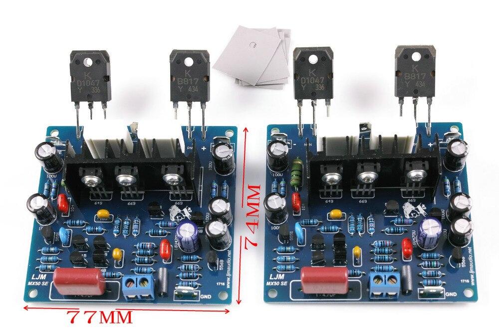 MX50 se SENGTERBELLE Montar KTB817 KTD1047 Amplificador de Audio de $ number can