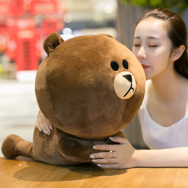 Bear Plush Toys Japanese Anime Brown Soft Doll Rabbit Yellow Duck Kids Birthday Gift For Friend And Children