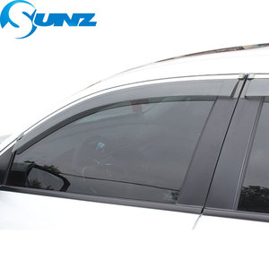 Image 3 - Window Visor for BMW X1 2011 2015 Side window deflectors rain guards for BMW X1 2011 2015 SUNZ