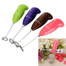 Kitchen Egg Beater Coffee Milk Drink Electric Whisk Mixer Frother Foamer Electric Mini Handle Mixer Stirrer Kitchen Tools цена и фото