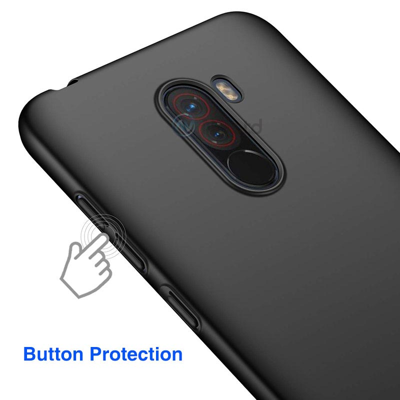 Ultra Slim Matte Case For Xiaomi Pocophone F1 Shockproof Back Cover Luxury Plastic Matte Phone Case For Xiomi poco F1 hard case (4)