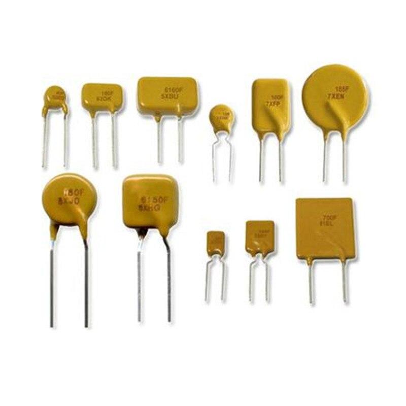 100pcs/1000pcs Resettable Fuse PPTC TRF250-050 250V 220V 0.05A 50MA 500 pcs resettable fuse 72v 2a radial leaded pptc polyswitch new