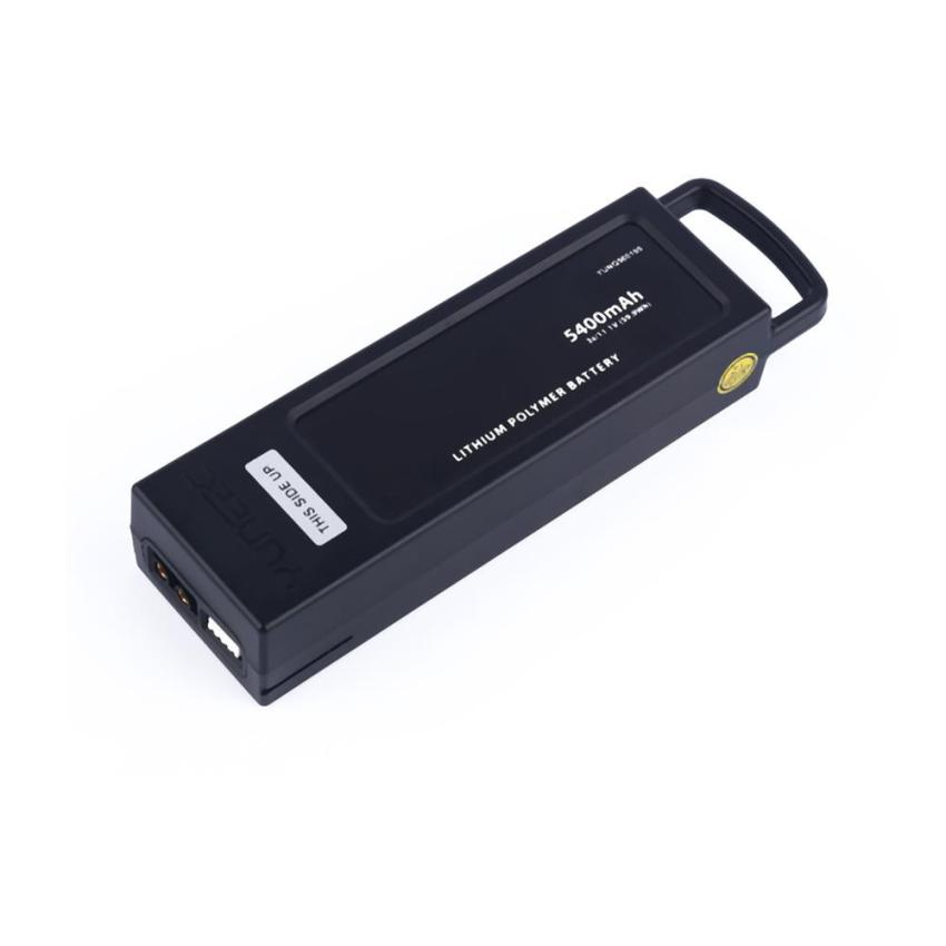 1 pcs 5400mh 3S/11.1V(59.9WH) Replacement Aerial Battery For Yuneec Q500  Z825 morpilot 2pcs 11 1v 3s 6300mah 4k 10c lipo battery for yuneec typhoon q500 q500 4k high performance with charging protection