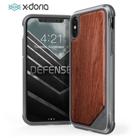 X Doria Defense Lux Phone Case For iPhone X 10 Military Grade Drop Tested Protective Case Cover For iPhone X Aluminum Cover