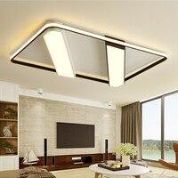 Новые современные акриловые светодиодный потолочный светильник кадров Большой Роскошные потолочный светильник для жизни столовая местны