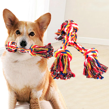 Pet cotton ropes Dog Chew Toys Protect Clean teeth Toy Rope Cotton Dogs For Large/small Bite
