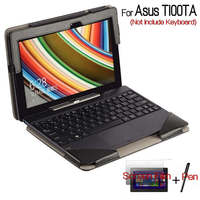 4 In 1 For Asus Transformer Book 10 1 T100 T100Ta Stand Cases Folio Keyboard Leather