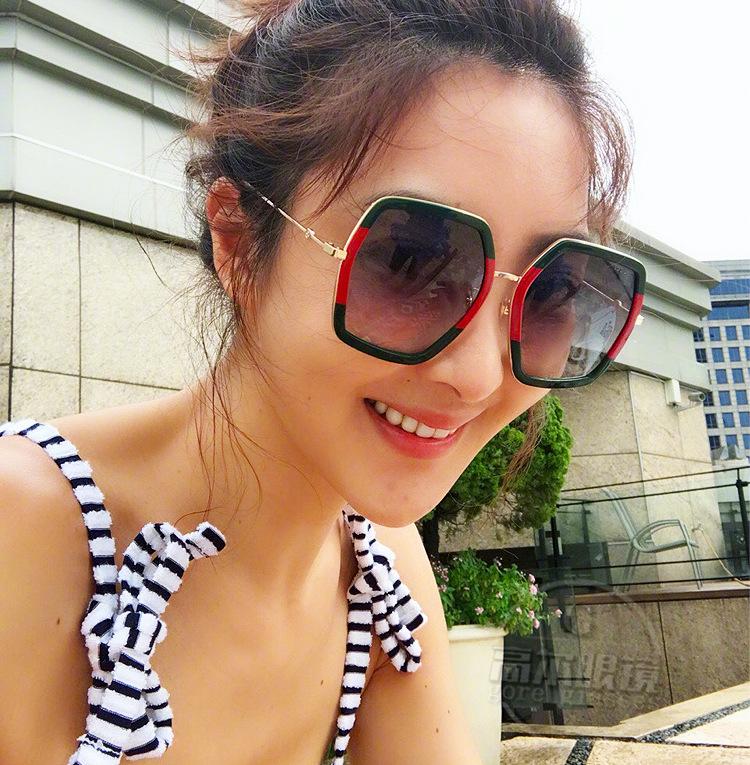 HTB1.vgJd8DH8KJjSspnq6zNAVXas - Square Luxury Sun Glasses Brand Designer Ladies Oversized Crystal Sunglasses Women Big Frame Mirror Sun Glasses For Female UV400