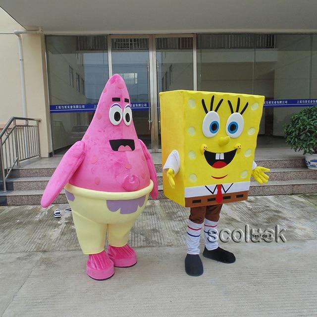 Mejores Amigos Bob Esponja Y Patricio Estrella De La Mascota
