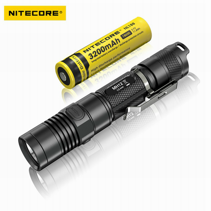 все цены на Nitecore MH12 Tactical Flashlight Cree XM-L2 1000 Lumens USB Charging Camping Searching Hand Light онлайн