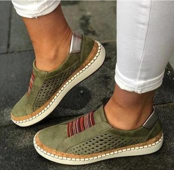 Slip-On Sneaker Woman Ladies Casual Shoes Comfortable Lady Loafers Women''s Flats 1