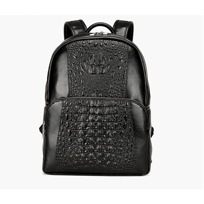 Men Leather Backpack High Quality Youth Travel Rucksack School Book Bag Male Laptop Business bagpack mochila Shoulder Bag men original leather fashion travel university college school book bag designer male backpack daypack student laptop bag 9950