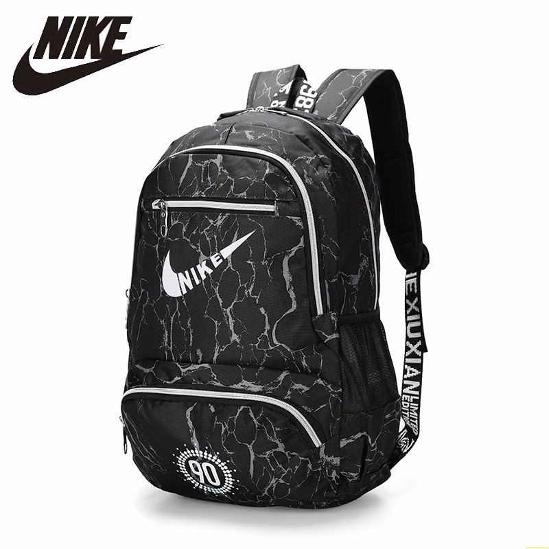 NIKE New Arrival Travel Backpack Large Capacity Canvas Backpack Fashion School Bag