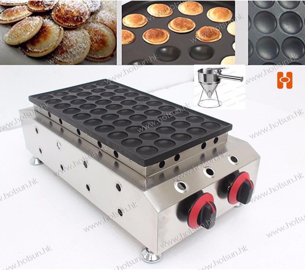 2 in 1 Non-stick LPG Gas Dutch Mini Pancakes Poffertjes Dorayaki Maker Machine Baker +  Batter Dispenser 2 in 1 non stick lpg gas dutch mini pancakes poffertjes dorayaki maker machine baker batter dispenser