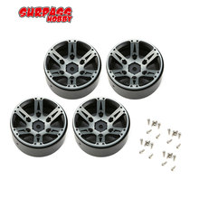 4pcs Metal 1.9 inch Wheel Hub Beadlock Rim for 1/10 RC Rock Crawler Axial SCX10 90046 TAMIYA CC01 D90 D110 TF2 Traxxas TRX-4