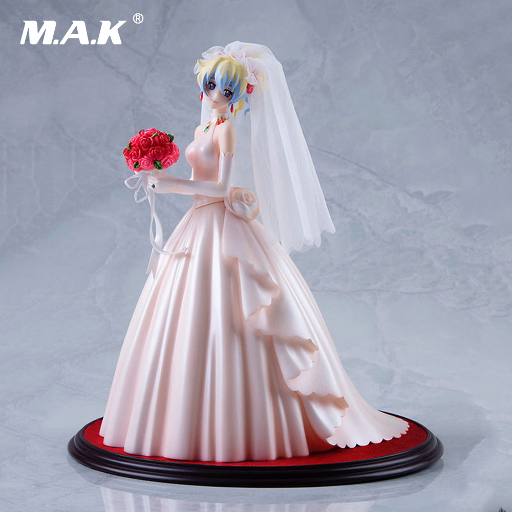 23CM PVC Gurren Lagann Nia Teppelin Wedding Dress Version 1/8 Scale Figure Collections Children Toys Gifts Brinquedos