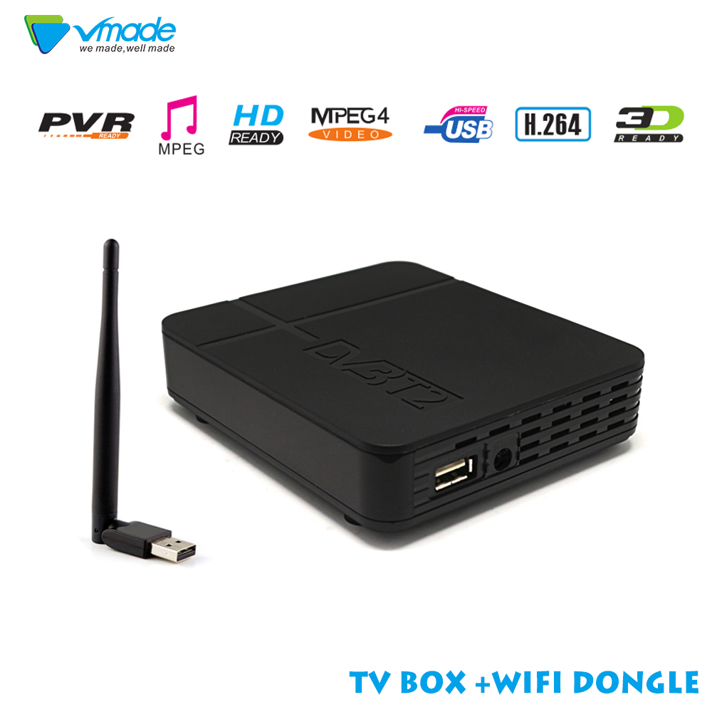 Newest TV box HD K2 FTA DVB T2 Terrestrial Receiver DVB T2 MPEG 2 4 H