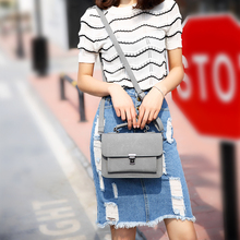 2017 new female Bag Satchel Korean women fashion handbag frosted lock small shoulder bag