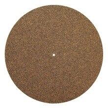 Пробковый и резиновый коврик для проигрывателя пластин LP коврик для скольжения аудиофил 3 мм антистатический коврик для пластинчатой пластинки LP