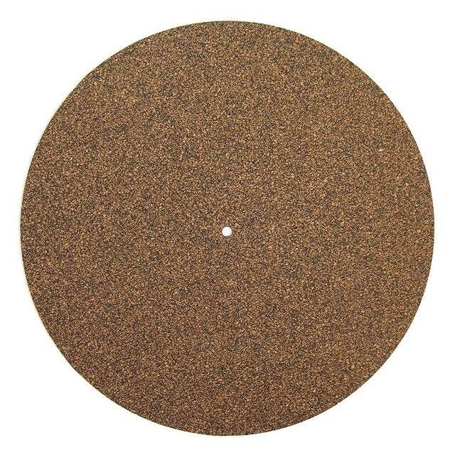פקק & גומי פטיפון מגש מחצלת LP להחליק מחצלת Audiophile 3mm אנטי סטטי Slipmat עבור LP ויניל שיא