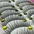 Bluefrag natural cílios postiços 10 pairs artesanal moda grosso macio longo cílios postiços eye lash cílios baratos transporte rápido