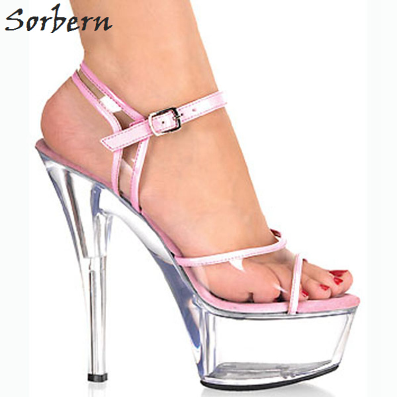 d2db091f8a4c Sorbern Red Strange Style Wedges Women Sandals With Heels Size 10 High Heel  Platforms Cross-Strap 16Cm Luxury Dress Shoes WomanUSD 101.37 pair