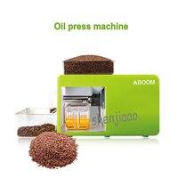 Máquina da imprensa de óleo de amendoim em casa  DIY experiência  bagaço de óleo de semente de Linhaça  sementes de Gergelim  amêndoas  de soja. presser Óleo de aço inoxidável|Processadores de alimentos| |  -