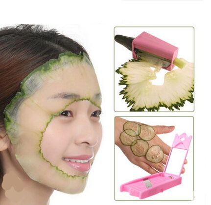 Us 8 5 New Style Diy Face Mask Tool Cucumber Sharpener And Slicers Peel Facial Mask Tools Skin Care Recycle Healthy Beauty Protction في New Style