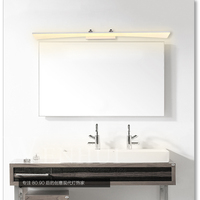 Светодиодный зеркальный свет в светодиодный комнатные настенные лампы 8 Вт/12 Вт/16 Вт/20 Вт/24 Вт Косметическая акриловая лампа для зеркала в ва