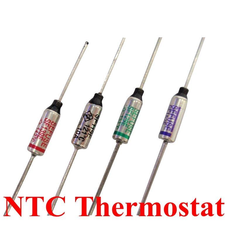 10pcs/lot SF188E SF188Y Thermal Fuse 10A/15A 250V RY 192C Cutoffs Tf192C Degree Temperature Fuses New