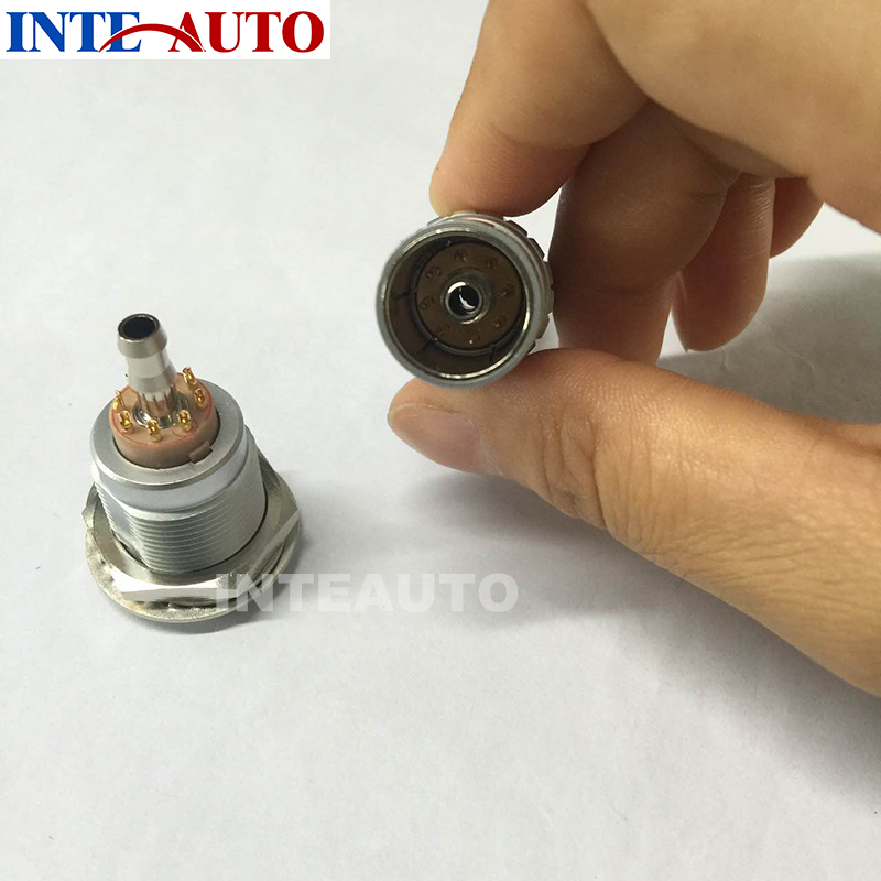 LEMOs M18 3B 8 pins circular metal gas electrical connector, push pull plug and receptacle,used for cosmetic instrument circular electrical cable plug and recetpacle substitute for 4 pins hirose connector hr10a 7p 4p 73 hr10a 7j 4s 73