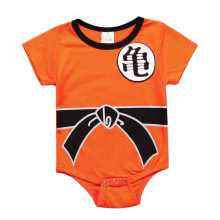 Dragon Ball Baby Rompers Newborn Baby Boys Clothes SON GOKU Toddler Jumpsuit Bebes Costumes For Baby Boy Girl Clothing MBR0109