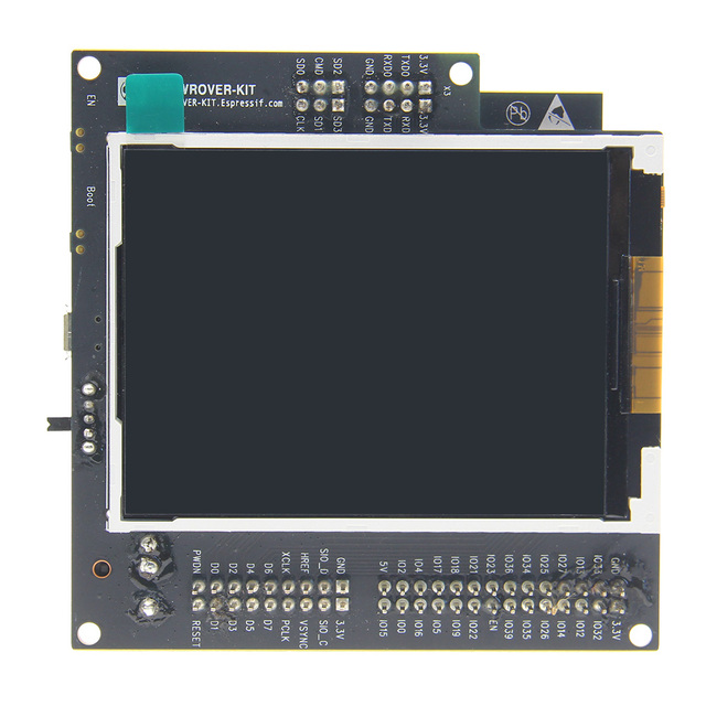ESP-WROVER-KIT ESP32 V4.1 Development Board With 3.2 Inch LCD Screen + WiFi + Wireless Bluetooth Function Dual Core 240 MHz CPU