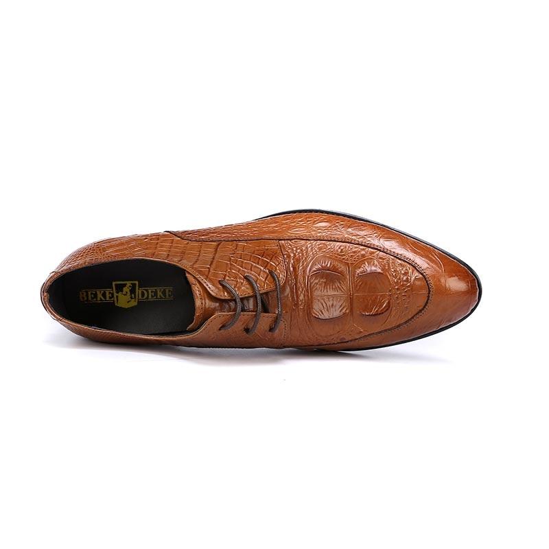 Cuero Calzado Fiesta Diseño De Boda Genuino black red Oxfords Formal Zapatos Para Brown Oficina Hombre Vestido Italiano Xwqwp0U