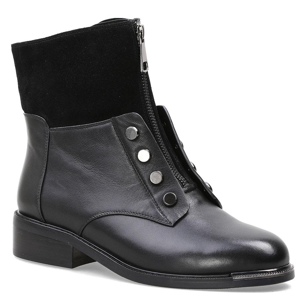 Schwarzes Wolle Mebi Mode Frauen Mit Winter 2018 Leder Stiefeletten Schuhe Echtem Wohnungen Warme Boot wHZPOrw