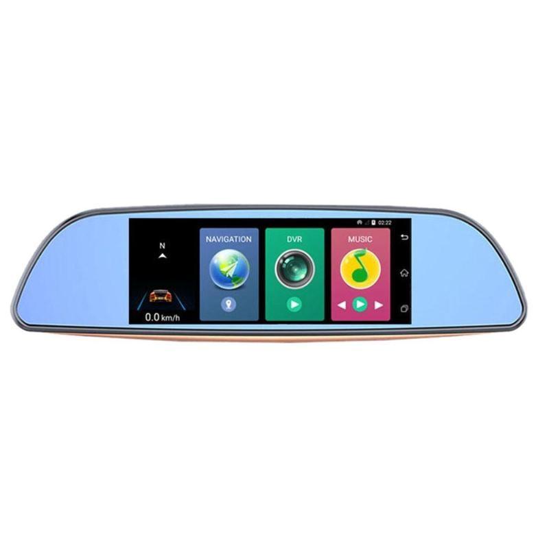 New 7 Inches Bluetooth 3G WiFi Android Car Auto Rearview Mirror DVR GPS Dash Cam DVR Dash Camera English User Manual GPS Module gps модуль для dvr 630