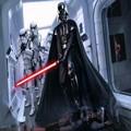 Darth Vader(Anakin Skywalker) Darth Vader Costume Suit Kids Movie Costume For Halloween Party Cosplay Costume With Aurora Sword