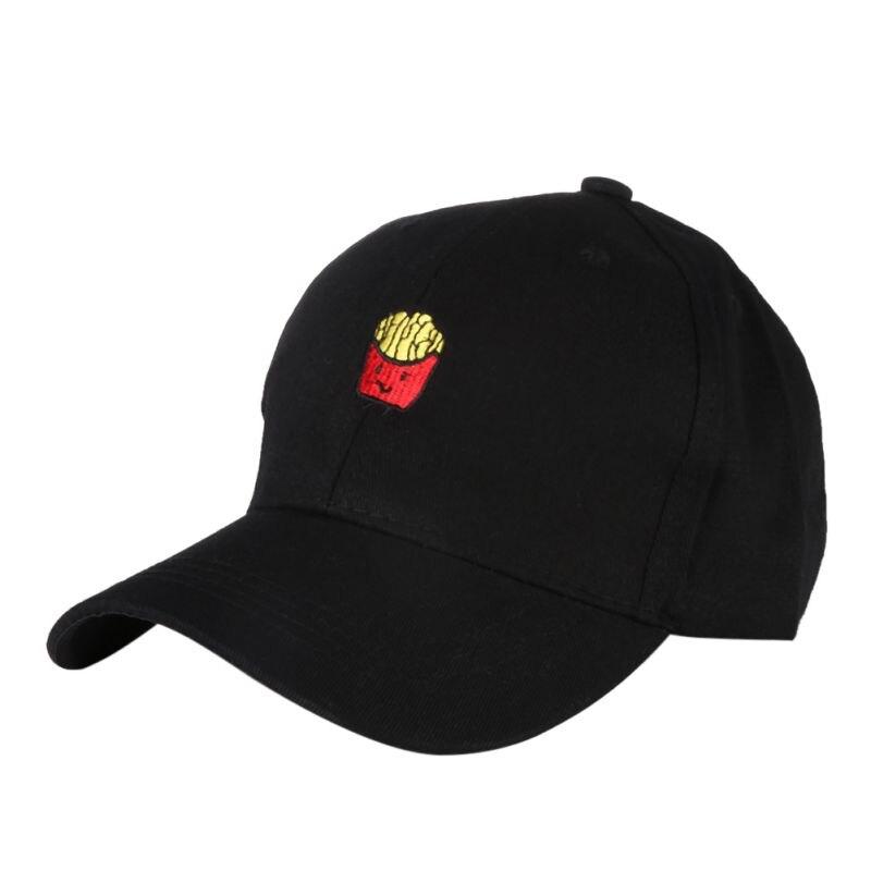 Unisex In Cotone Cappello Da Tennis Patatine fritte Ricamo Cappelli di  Snapback Caps Regolabile Hip Hop Sport Caps Baseball Golf Cappello  Traspirante in