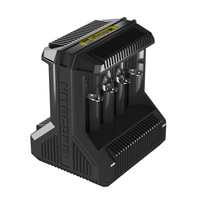 NITECORE Knight Cole I8 high power intelligent charger 18650 fully compatible USB multi slot fast charging