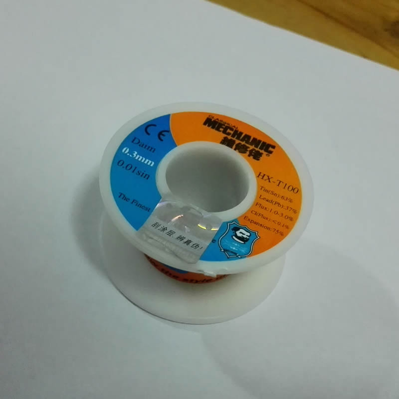 0 3mm 50g New Tin Lead Tin Wire Melt Rosin Core Solder Soldering Wire Roll Welding
