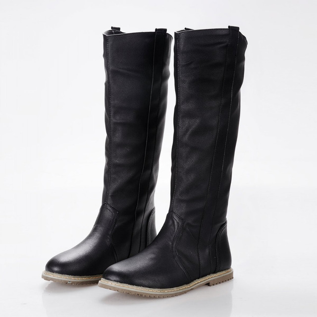 Aliexpress.com : Buy size 34 43 2016 New fashion women boots flat ...