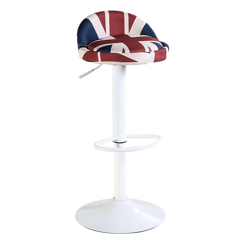 Astounding Us 105 83 51 Off Linen Vintage Bar Stool Chair Stainless Steel 15 Colors Rotating Adjustable Height Europe American Commercial Home Furniture In Pdpeps Interior Chair Design Pdpepsorg
