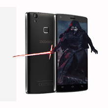Max pro mtk6737 doogee x5 quad core móvil 5.0 pulgadas hd 2 gb ram 16 gb rom 4000 mah huella digital androide 6.0 smartphone
