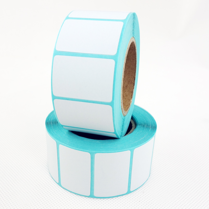Direct Thermal Labels, 30mm X 20mm, White, Permanent Adhesive, Perforations Between Labels, 700 Per Roll, 4 Rolls/2800 Labels